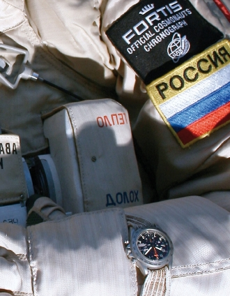 Fortis on a Russian Astronaut